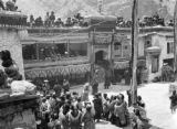 Jammu and Kashmir (India), ceremony at the Hemis monastery