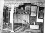 Jammu and Kashmir (India), interior of merchant's house