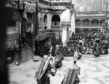 Jammu and Kashmir (India), Buddhist dancers in mystery play at Hemis Monastery
