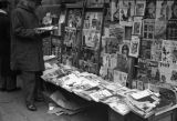 China, publications on display at newsstand