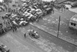China, armored military vehicles and a crowd of people, Civil War of 1949
