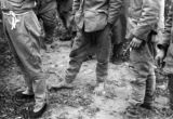 Changde (China), the bare feet of a Japanese soldier taken prisoner by the Chinese after the...