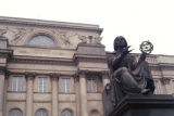 Warsaw, Nicholas Copernicus Monument and Polish Academy of Sciences