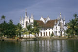 Cochin, panoramic view of church