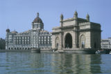 Bombay, Gateway of India and Taj Mahal Hotel