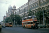 Bombay, double-decker bus