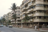 Bombay, upscale apartment buildings