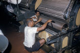 Bombay, cotton carding machinery
