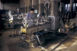 Linxian, workers in machine shop
