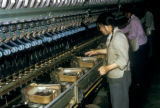 Yanan, workers in silk factory