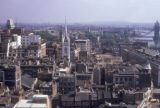 London, panoramic view of city