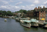 Windsor, panoramic view of Thames riverfront