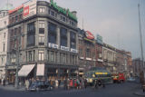 Dublin, street scene in business district