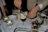 Dublin, preparing Irish coffee
