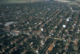 Paris, aerial view of residential area