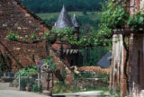 Collonges-la-Rouge, red sandstone houses