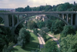 Luxembourg, Adolphe Bridge over Petrusse valley