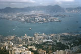 Hong Kong, view of the harbor
