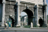 Rome, Roman Forum, Arch of Severus