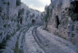 Syracuse, Roman road and catacombs