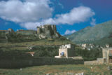 Palermo, view of Castle of Carini