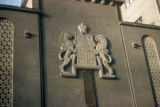 Bucharest, symbol of Torah above the entrance to Yeshoah Tova Synagogue
