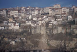 Veliko Turnovo, view of cliffside town