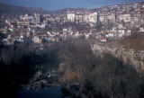Veliko Turnovo, cliffside town overlooking Yantra River