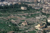 Athens, aerial view of city