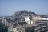 Athens, view of Acropolis overlooking city