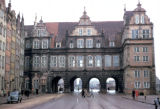 Gdansk, reconstructed City Gate