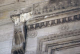 Athens, detail of cornice on Erechtheum