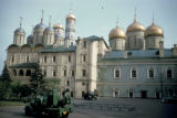Moscow, Kremlin, domed cathedrals
