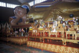 George Town, Temple of the Reclining Buddha interior