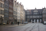 Gdansk, Dlugi Targ street and Green Gate