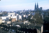 Cologne, panoramic view of city
