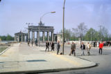 Berlin, Brandenburg Gate viewed from East Berlin