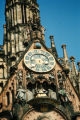 Nuremberg, Frauenkirche (Our Lady's Chapel) clock