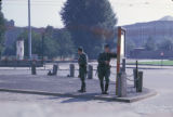 Berlin, Vopos (East German police) at border