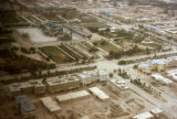 Mazar-e Sharif, aerial view of city