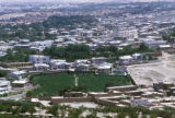 Kabul, view of city and vineyard