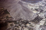 Kabul, aerial view outskirts of city