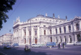 Vienna, view of Burgtheater