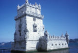 Lisbon, Tower of Belem on Tagus River