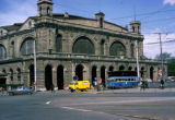 Zurich, train station on Bahnhofplatz (Station Square)
