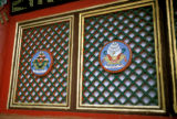 Karakorum, decorated windows at Erdene Zuu monastery