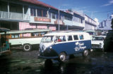 Papeete, small tour bus