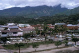 Papeete, panoramic cityscape