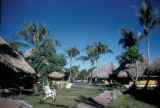 Papeete, resort huts