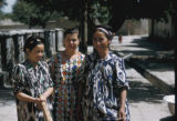 Samarkand, three women
